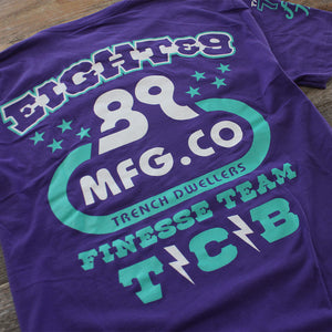 High Performance T Shirt Grape - 4