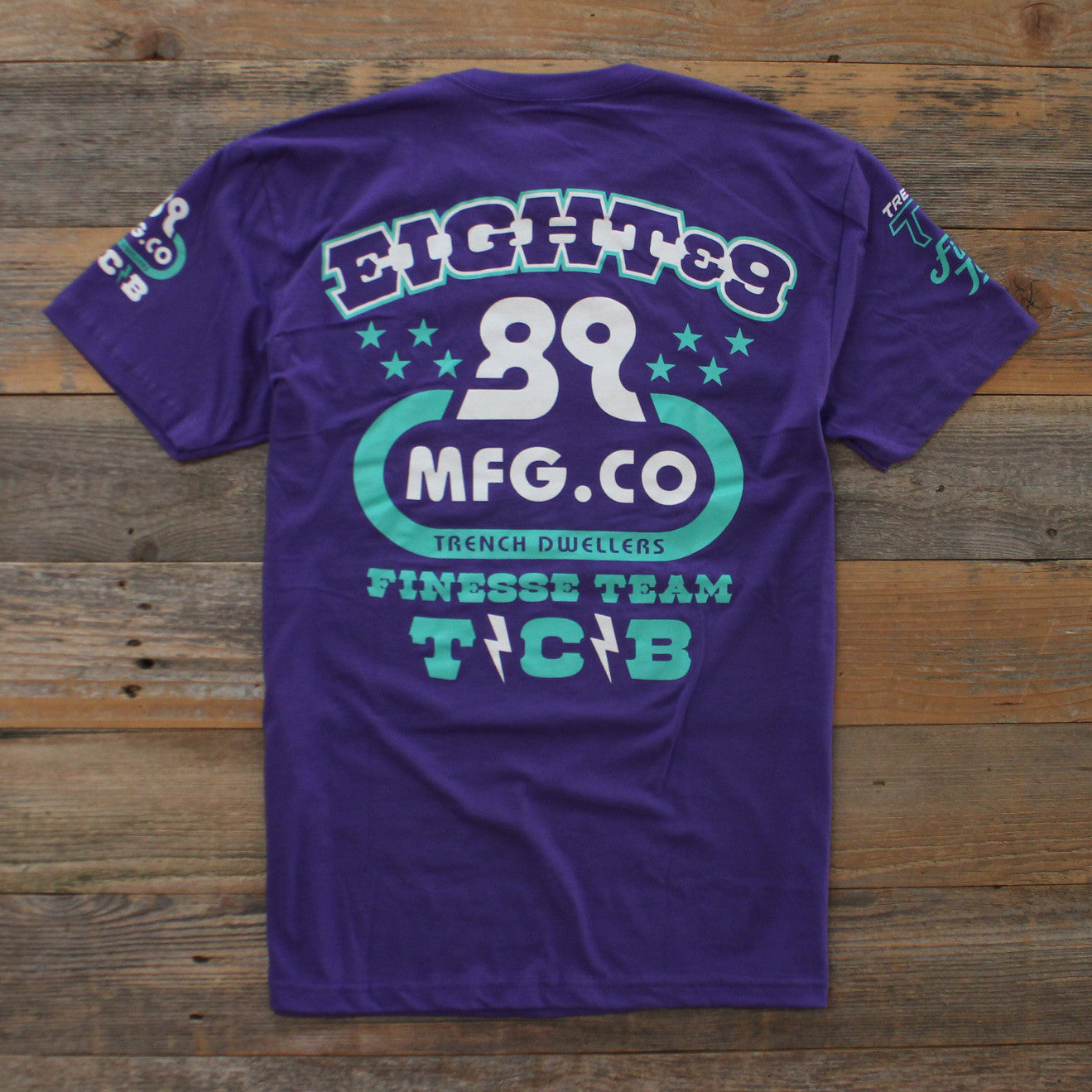 High Performance T Shirt Grape - 2