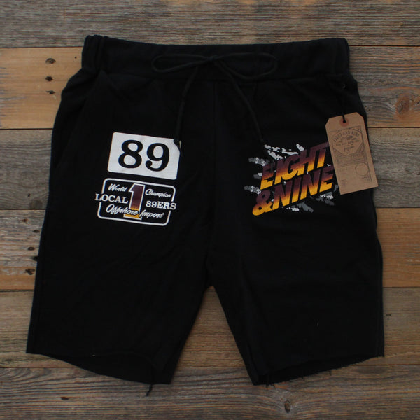 Bordeaux Thriller Terry Shorts