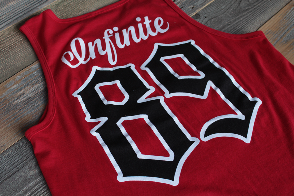 On Deck Jersey Tank Top Red - 4