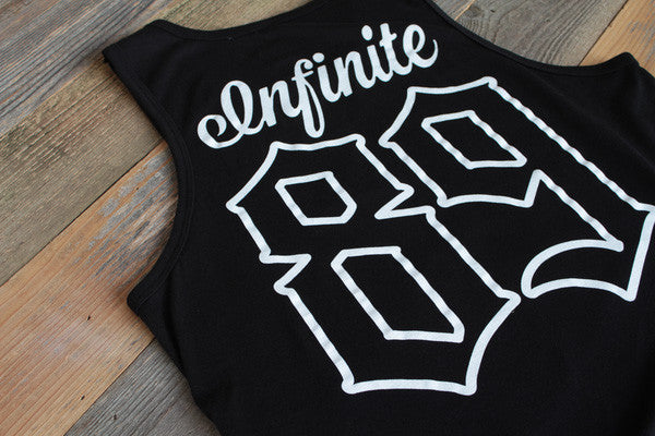 On Deck Jersey Tank Top Black - 5