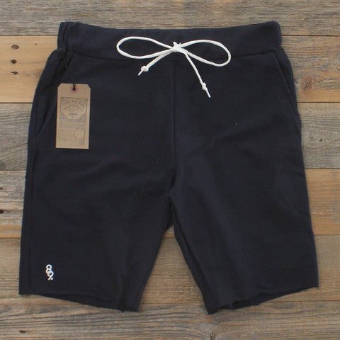 Mini Keys Cut Off Shorts Navy