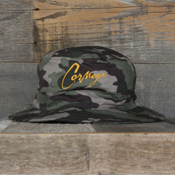 The Realness Camo Bucket Hat Signed by Cormega - 1