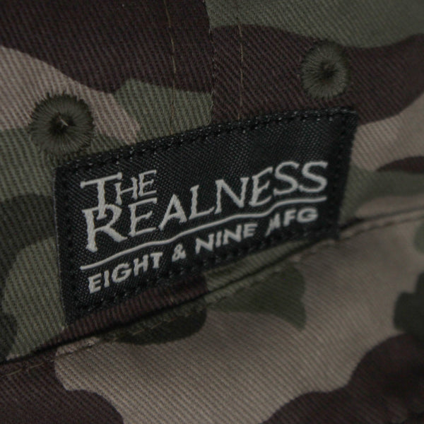 The Realness Camo Bucket Hat Signed by Cormega - 4