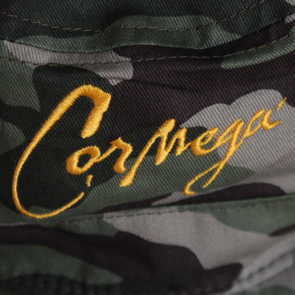 The Realness Camo Bucket Hat Signed by Cormega - 2