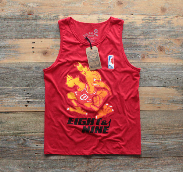 Heat x Canes Miami Mash-Up Tank Red