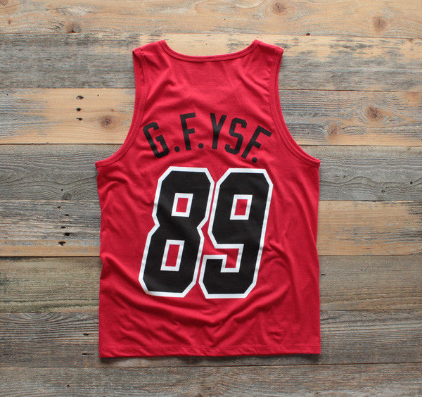 Heat x Canes Miami Mash-Up Tank Red - 2