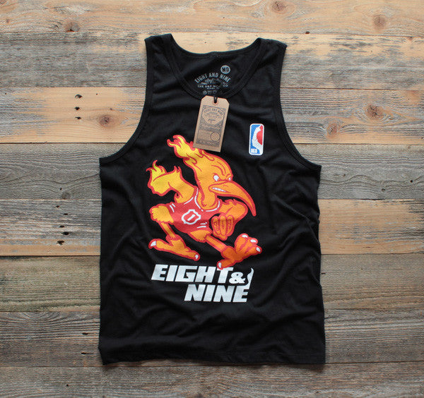 Heat x Canes Miami Mash-Up Tank Black