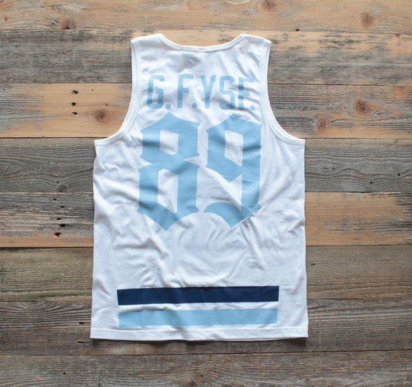 Goons Jersey Tank Top Powder Blue - 2