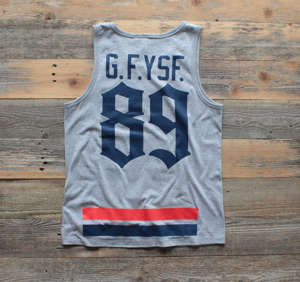 Goons Jersey Tank Top Cement - 2