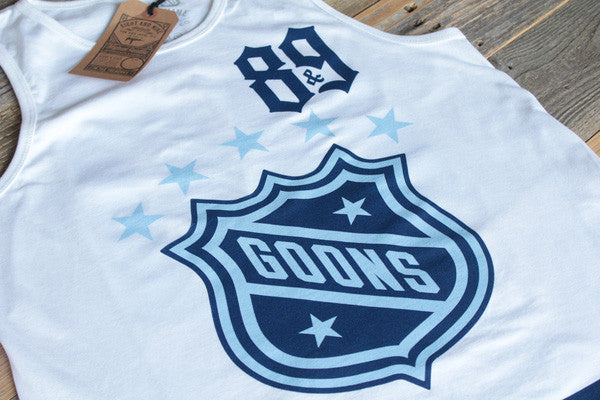 Goons Jersey Tank Top Powder Blue - 3