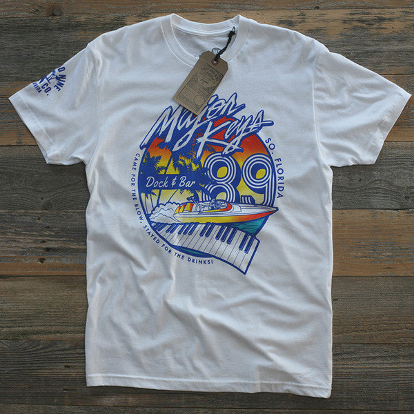 Major Keys T Shirt White - 1