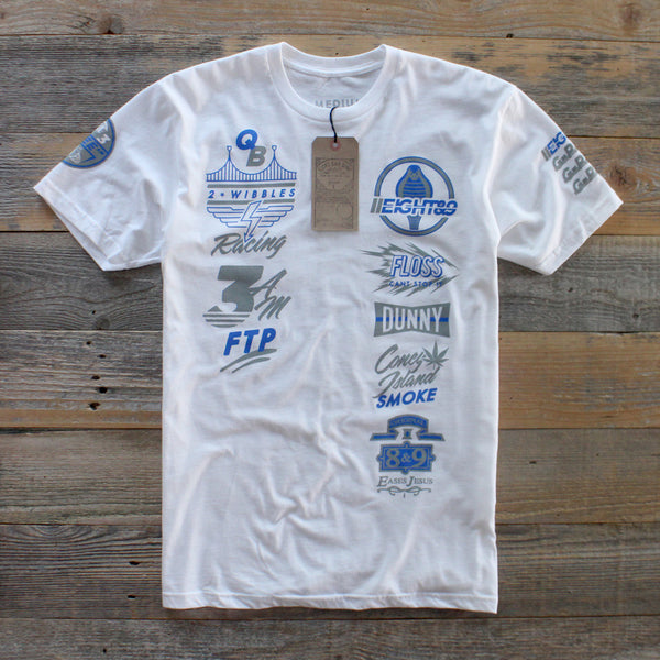 G Pack SS Jersey Tee White - 3