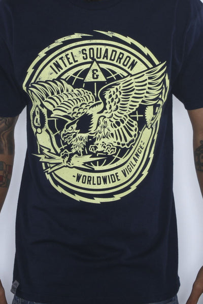 Intel Squadron Blue T Shirt - 2