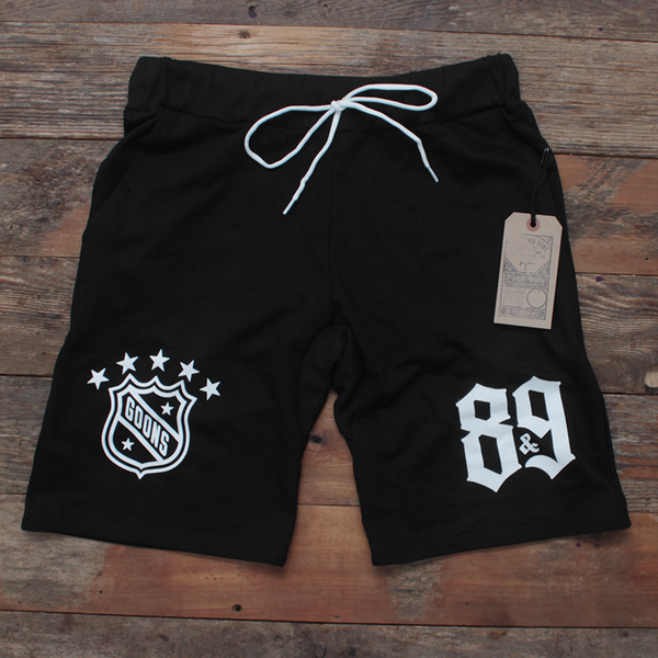 Goons French Terry Yard Shorts Black