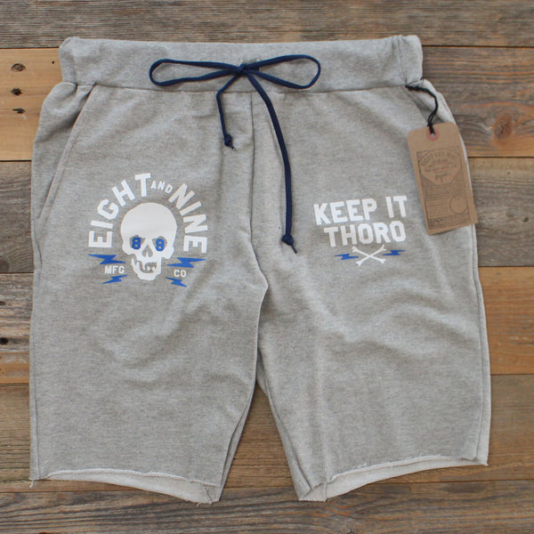 Keep It Thoro Terry Shorts Heather - 2
