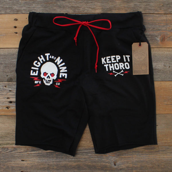 Keep It Thoro Terry Shorts Black - 2