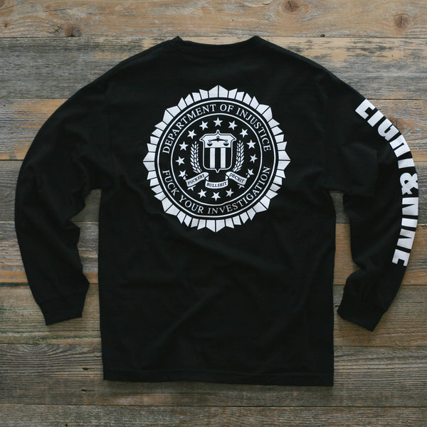 FTP Academy Jersey Tee Black L/S - 1