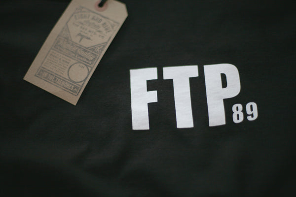 FTP Academy Jersey Tee Black L/S - 2