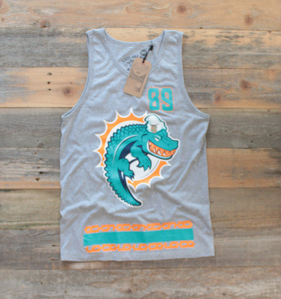 Miami FL Mash-Up Jersey Tank Heather