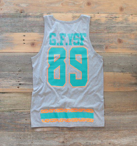 Miami FL Mash-Up Jersey Tank Heather - 2