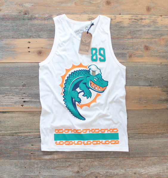 Miami FL Mash-Up Jersey Tank White