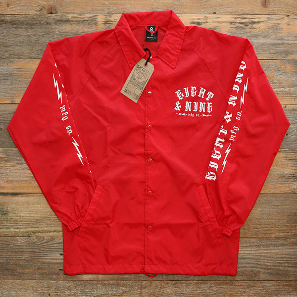 Trench Dwellers Red Coaches Jacket