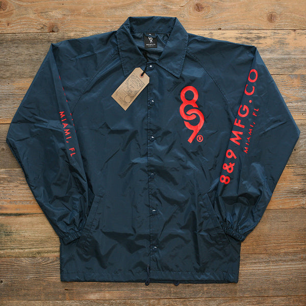 Keys Coaches Jacket Navy - 1