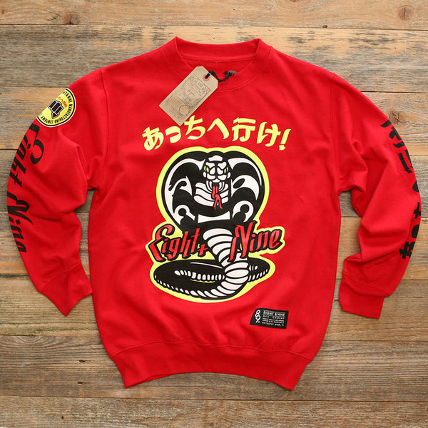 Kobra Kai Team Sweatshirt Red