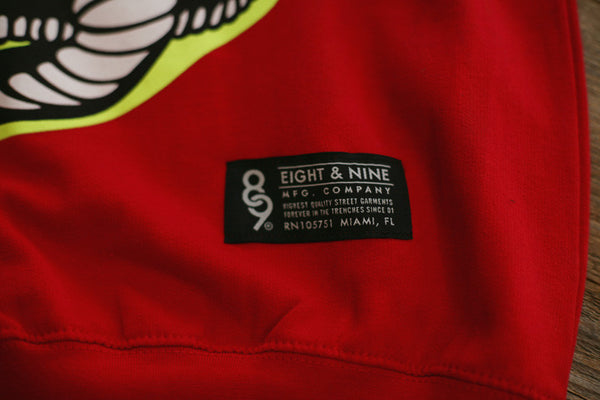 Kobra Kai Team Sweatshirt Red - 4