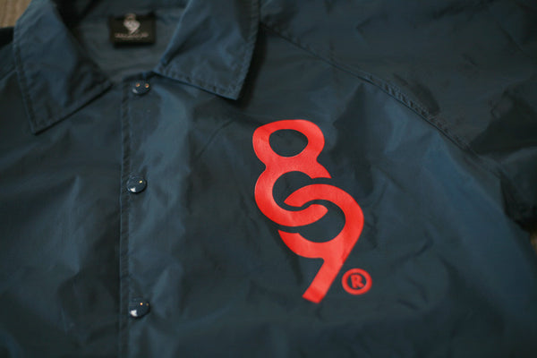 Keys Coaches Jacket Navy - 3