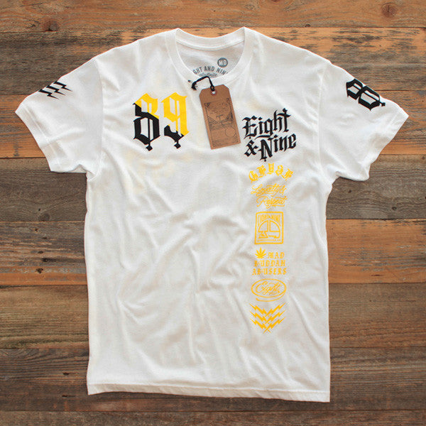 Club Life Jersey Tee White - 1
