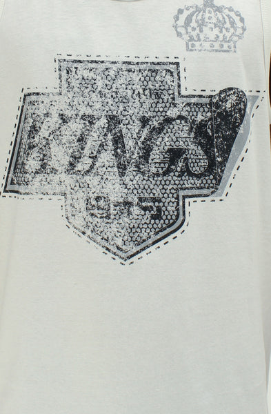 Fly Kings White Vintage Tank Top - 2