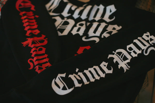 Crime Pays MLB Hooded Sweatshirt Bred - 2