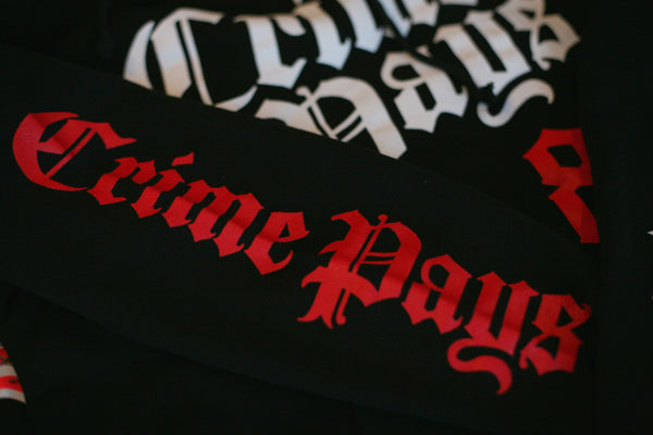 Crime Pays MLB Hooded Sweatshirt Bred - 3