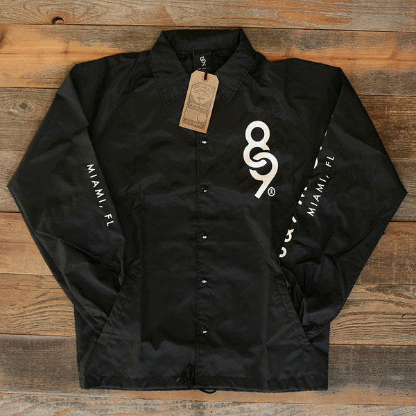 Keys Coaches Jacket Black