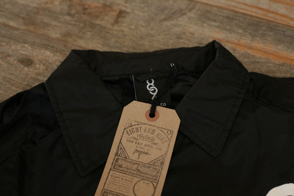 Keys Coaches Jacket Black - 3