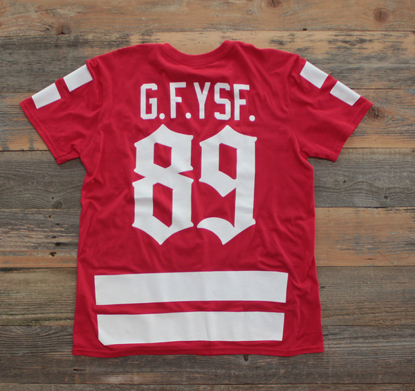 Goons Hockey Jersey Tee Red - 2