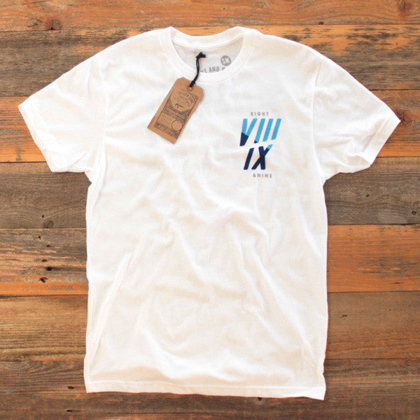 Never Slackin T Shirt White - 2