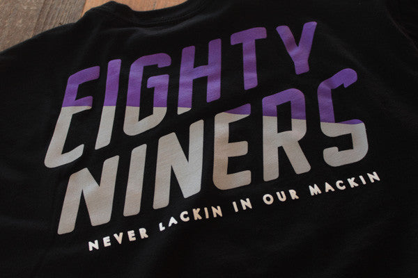 Never Slackin T Shirt Black - 4