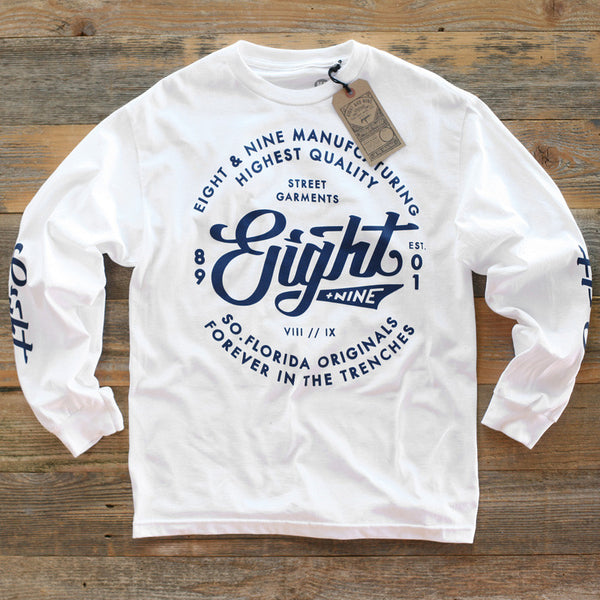 Ohh Gee Tee L/S White - 1