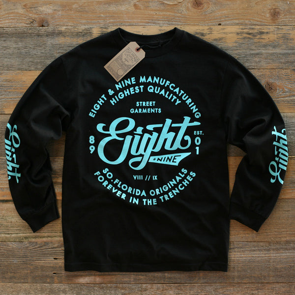 Ohh Gee Tee L/S Black - 1