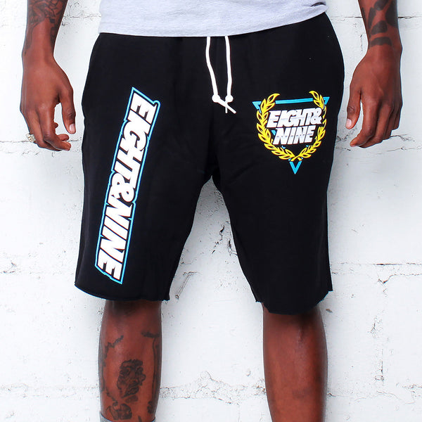 Daytona 2.0 French Terry Shorts Black