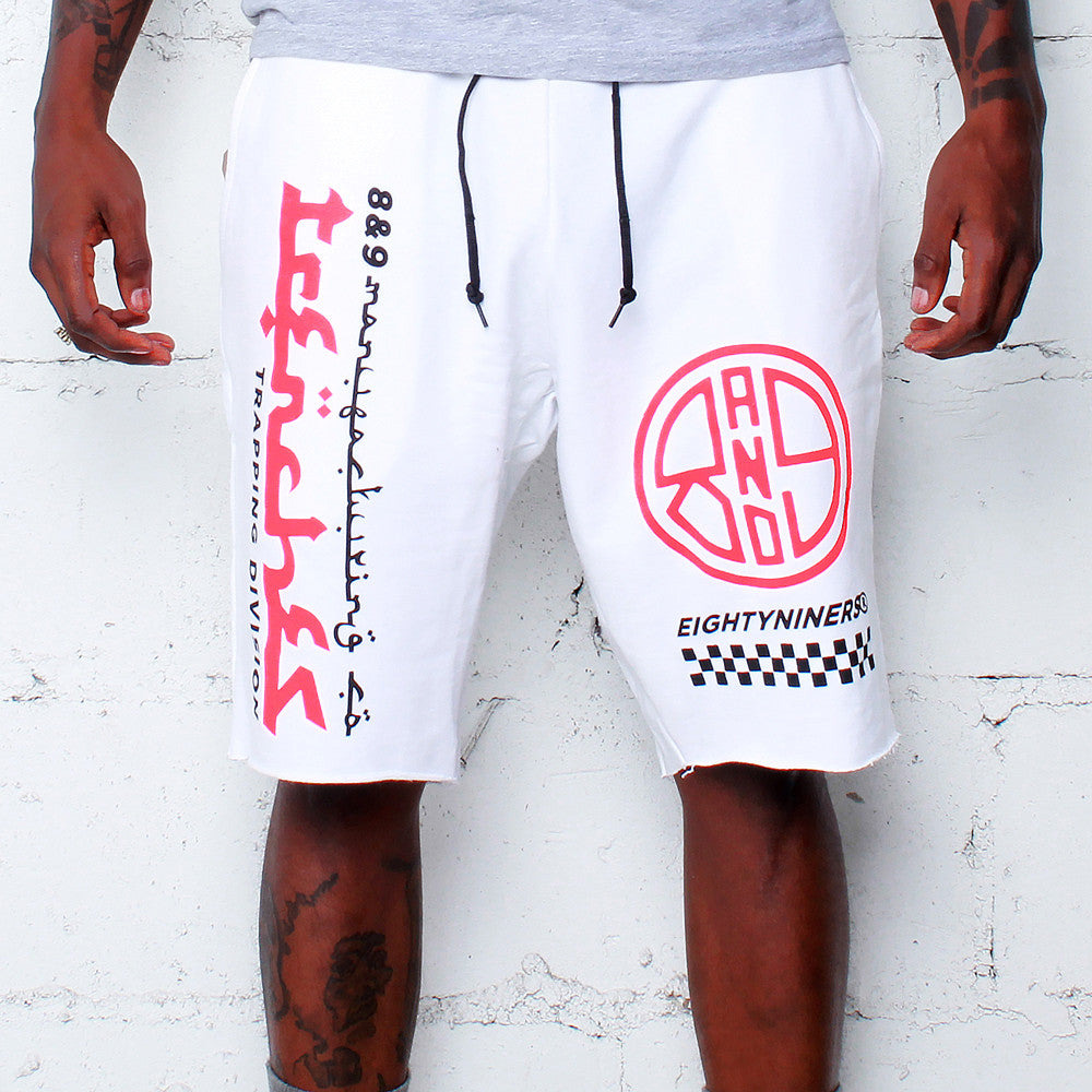 Trap Division French Terry Shorts Infrared - 1