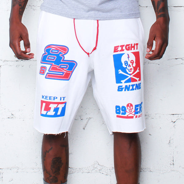 Keep It Lit Terry Shorts Merica - 1
