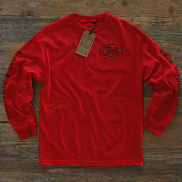 Motor Co Tee L/S Red - 1