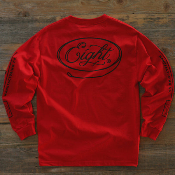 Motor Co Tee L/S Red - 2