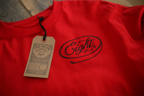 Motor Co Tee L/S Red - 3