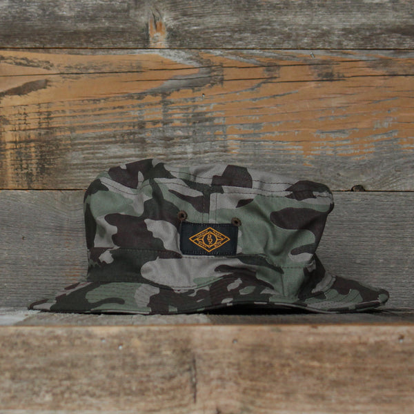 Trench Mark Bucket Hat Camo