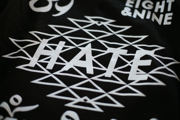 Hate Jersey L/S Tee Black - 4